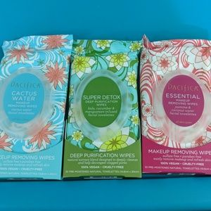 Pacifica skin care Facial Wipes lot